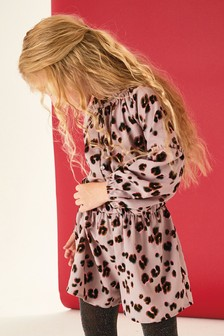 Animal Print Playsuit (3-16yrs)