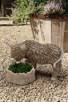 Hamish the Highland Cow Planter