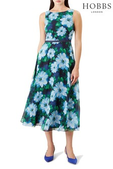 Hobbs Blue Carly Dress