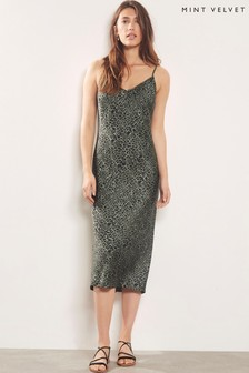 Mint Velvet Philippa Leopard Print Dress
