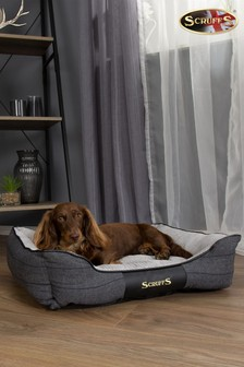 Washable Medium Breed Windsor Tweed Dog Bed by Scruffs®