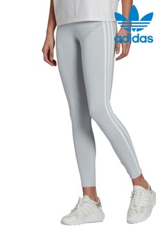 adidas Originals Blue 3 Stripe Leggings