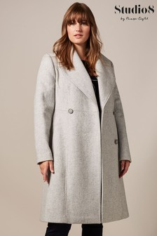 Studio 8 Grey Ayda Wool Coat