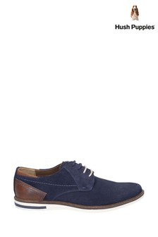 Hush Puppies Blue Frankie Lace-Up Shoes