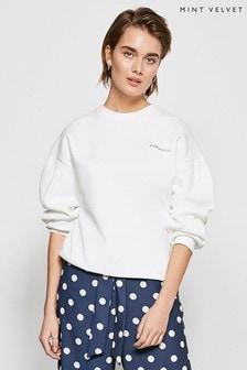 Mint Velvet Ivory Womankind Sweatshirt
