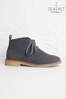 Seasalt Grey Rocky Shore Boots