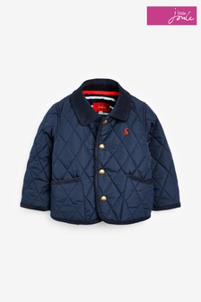 Joules Blue Milfrord Quilted Jacket