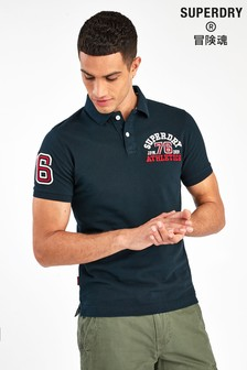 Superdry Navy Superstate Poloshirt