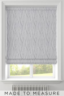 Legna Grey Made To Measure Roman Blind