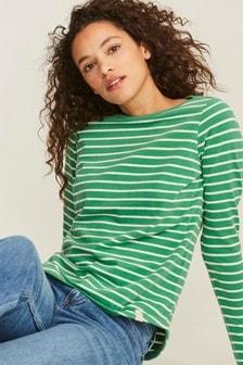 FatFace Organic Cotton Breton T-Shirt