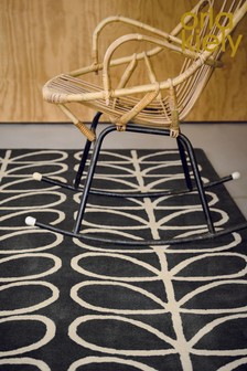Orla Kiely Linear Stem Geo Wool Rug