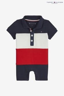 Tommy Hilfiger Baby Flag Colourblock Babygrow