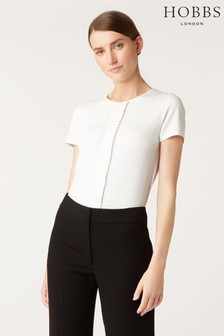 Hobbs White Valeria Top