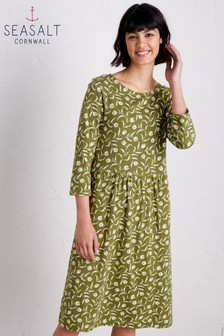Seasalt Green Guelder Rose Garden Tulip Creek Dress