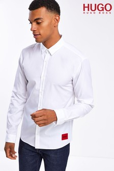 HUGO White Ero3-W Shirt