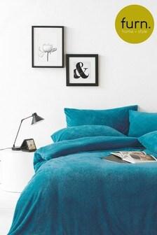 Furn Sherpa Duvet Cover and Pillowcase Set