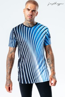 Hype. Mens Multi Steal Wave T-Shirt