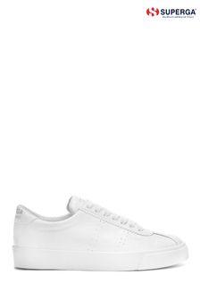 Superga® White 2869 Club S Croco Boots