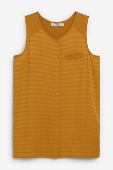 Sleeveless Utility Top