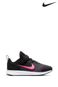 Nike Run Downshifter 9 Junior Velcro Trainers