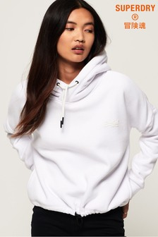 Superdry Orange Label Elite Crop Hoody