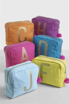 Bright Monogram Make Up Cosmetic Bag