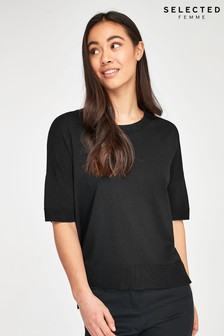 Selected Femme Lightweigth Boxy Jumper