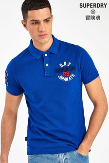 Superdry Blue Superstate Poloshirt