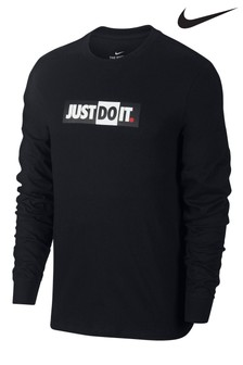 Nike Just Do It Langärmliges T-Shirt