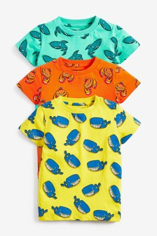3 Pack Printed T-Shirts (6mths-7yrs)