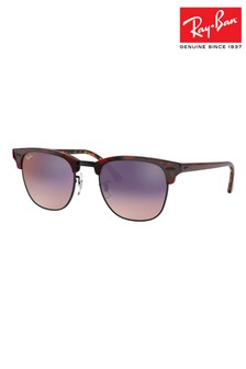 Ray-Ban® Havana Orange Clubmaster Sunglasses