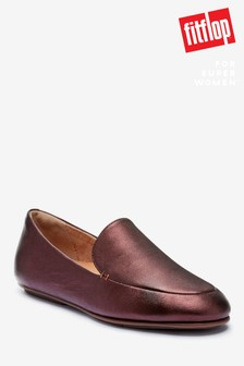FitFlop™ Lena Leather Loafers