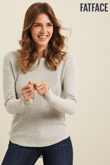 FatFace Grey Harpenden Jumper