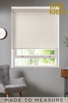 Orla Kiely Natural Tiny Stem Made To Measure Roller Blind