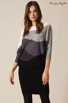 Phase Eight Grey Lorrie Landscape Becca Dress
