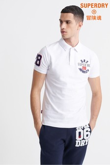 Superdry White Superstate Poloshirt