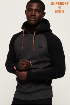 Superdry Orange Label Raglan Hoody