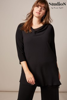 Studio 8 Black Sadie Layer Top