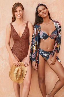 Plunge Shape Enhancing Swimsuit