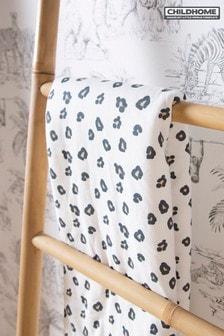 Childhome Super Soft Leopard Print Blanket