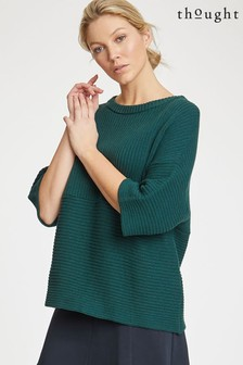 Thought Green Runa Jumper