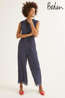 Boden Blue Melody Jumpsuit