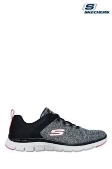 Skechers® Black Flex Appeal 4.0 Brilliant View Trainers