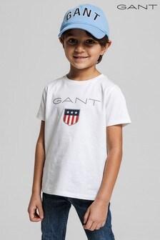 GANT Boys Shield Logo T-Shirt