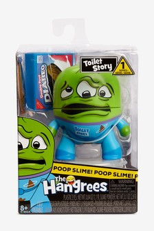 The Hangrees Toilet Story Collectible Parody Figure With Slime