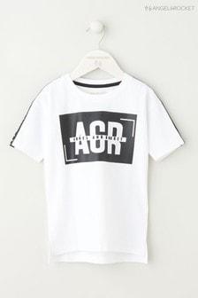 Angel & Rocket White Graphic T-Shirt