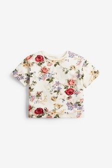 Floral Boxy Fit T-Shirt (3mths-7yrs)
