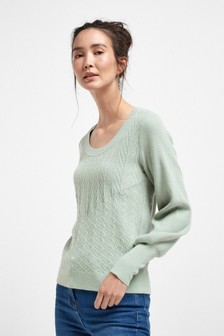 Scoop Neck Jumper