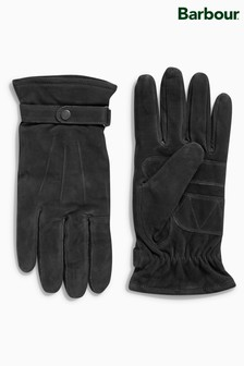 Barbour® Black Leather Thinsulate® Glove