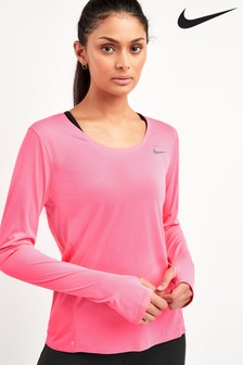 Nike City Sleek Long Sleeve Running Top